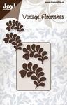 6003/0035 Cutting mal - Vintage Flourishes - Bladeren