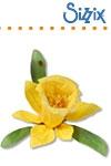 Sizzix SG thinlits dies flower daffodil