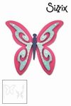 Sizzix thinlits die set x3 butterfly #3