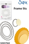Sizzix Framelits Die set 4pk scallop ovals