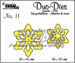 Duo Dies no 11 Open Flowers Small 3 CLOFS03 CLDD11
