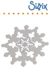 Sizzix Framelits die set 3pk snowflakes