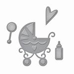 Shapeabilities Die D-lites S2-228 Sweet Baby