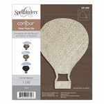 Hot Air Balloon Contour Steel Rule Die (SR-089)