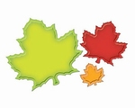 Shapeabilities S4-228 Nested Maple Leaves