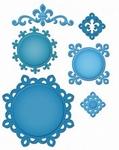 Shapeabilities S5-043 Fleur de Lis motifs
