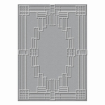 Texture Plate S6-071 Deco Squared