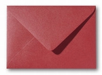 11 Envelop 12x18 CM Metallic Rosso