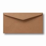 10 Envelop Kraft 11x22 CM Bruin