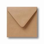 06 Envelop Kraft 14x14 CM Lichtbruin