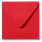 13 Envelop 14x14 cm Roma Koraalrood