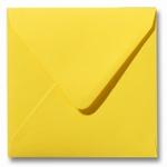 23 Envelop 14x14 cm Roma Boterbloemgeel