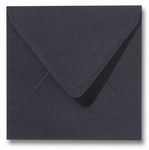 34 Envelop 14x14 cm Roma Zwart