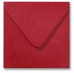 17 Envelop 14x14 cm Metallic Red