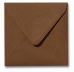 18 Envelop 14x14 cm Metallic Bronze