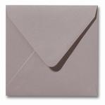 20 Envelop 14x14 cm Metallic Caramel