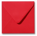13 Envelop 16x16 cm Roma Koraalrood